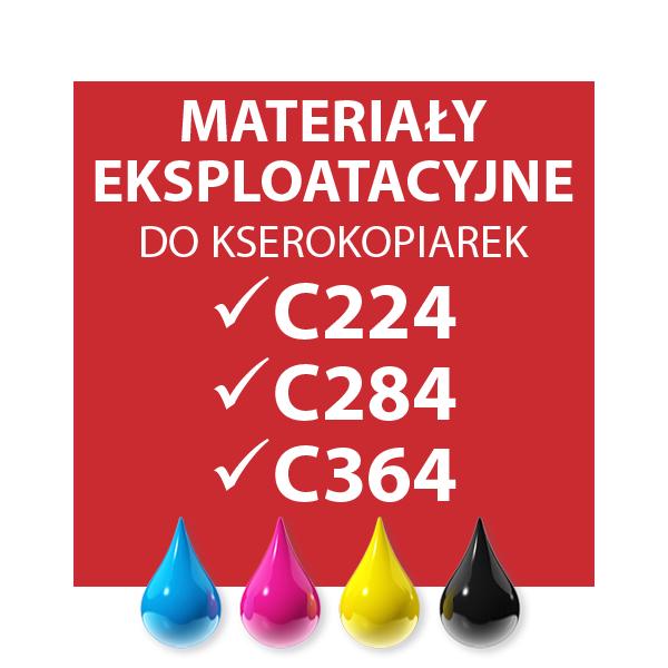 EKSPLOATACJA C224/C284/C364