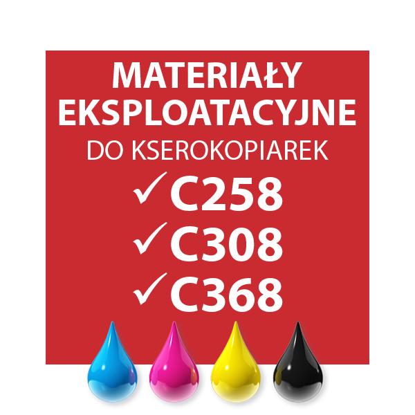 EKSPLOATACJA C258/C308/C368